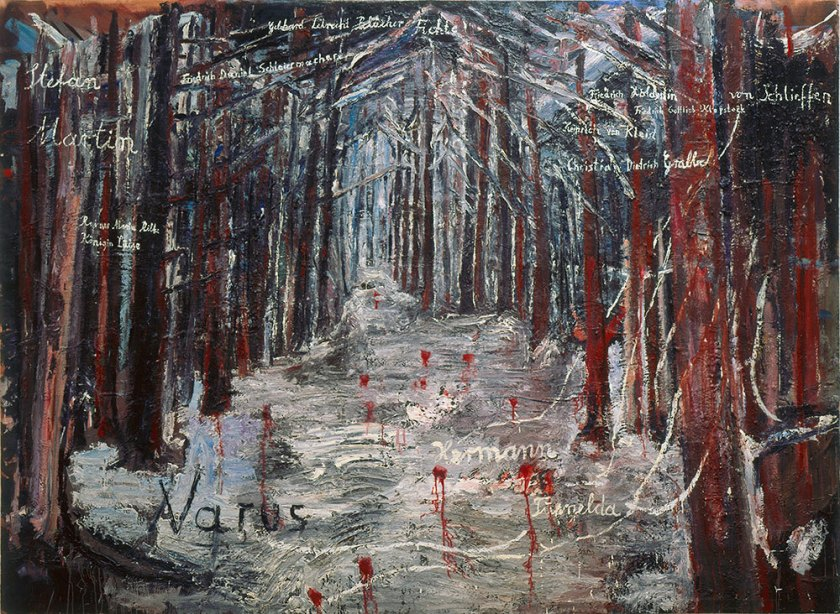 Anselm Kiefer. Varus,1976. KO Knausgaard-A Man in Love,My Struggle 2